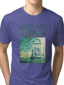 Briney Ocean Tossed Tri-blend T-Shirt