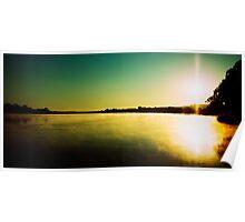 Sunrise near Mannum Poster