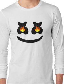 Funny Smile Marshmello Long Sleeve T-Shirt