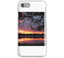 Sunrise reflection iPhone Case/Skin