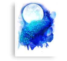 The Moon Lit Prince Canvas Print