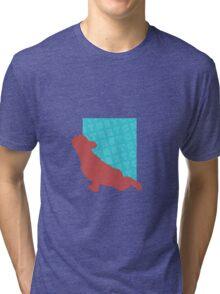 Frenchie Stretch Tri-blend T-Shirt