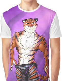 Dancing Tiger Graphic T-Shirt