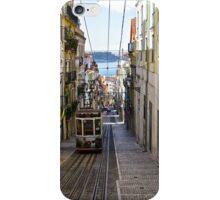 Rua de Bica de Duarte Belo, Lisbon, Portugal iPhone Case/Skin