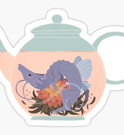 Blooming Tea Dragon Sticker