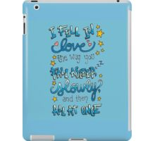 Fell In Love iPad Case/Skin
