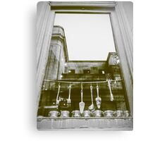 Cooking and Architecture Canvas Print