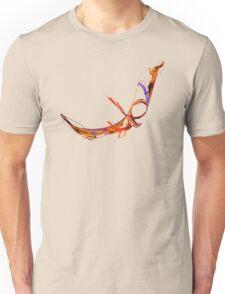 Fractal - Flying Swan Unisex T-Shirt