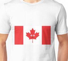 Canadian Happy Face Unisex T-Shirt