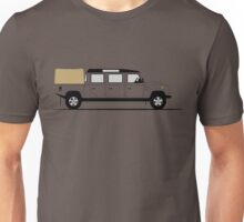 A Graphical Interpretation of the Defender 147 Triple Cab High Capacity Pick Up Unisex T-Shirt