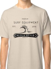 Alolan Dugtrio Surf Shop Logo Classic T-Shirt