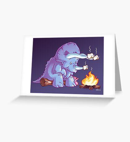 Triceramallows Greeting Card