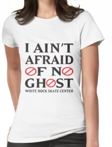 WRSC Afraid of No Ghost Womens Fitted T-Shirt