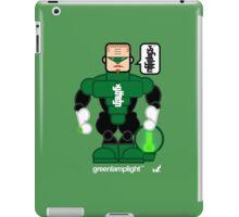 AFR Superheroes #08 - Green Lamplight iPad Case/Skin