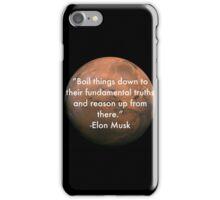 Elon Musk Fundamental Quote iPhone Case/Skin