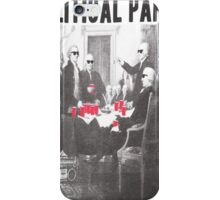 Political Party Shades & Red Cups iPhone Case/Skin