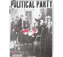 Political Party Shades & Red Cups iPad Case/Skin