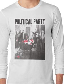 Political Party Shades & Red Cups Long Sleeve T-Shirt