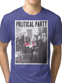 Political Party Shades & Red Cups Tri-blend T-Shirt