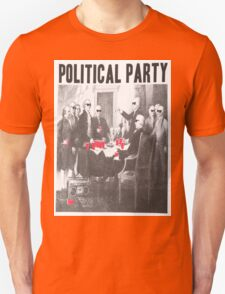 Political Party Shades & Red Cups Unisex T-Shirt
