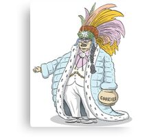 Chief Handincookiejar Canvas Print