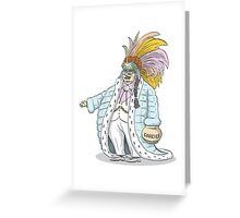 Chief Handincookiejar Greeting Card