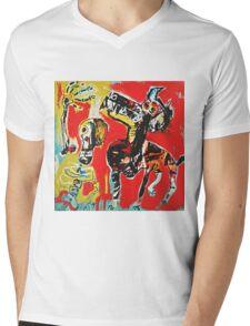 Good Dog Mens V-Neck T-Shirt