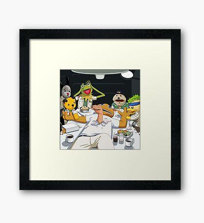 LeMuppets  Framed Print