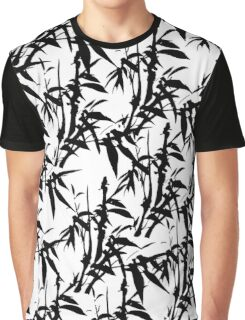 Bamboo Black Graphic T-Shirt