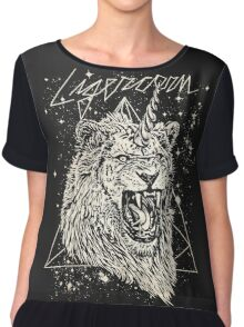 Ligercorn Chiffon Top
