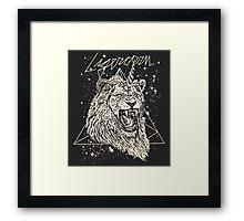 Ligercorn Framed Print