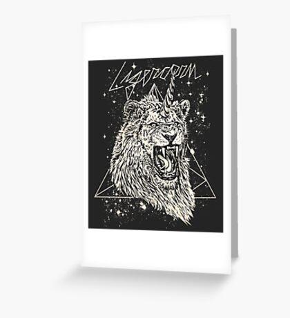 Ligercorn Greeting Card