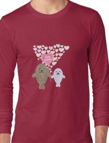 Happy Birthday Seals Long Sleeve T-Shirt