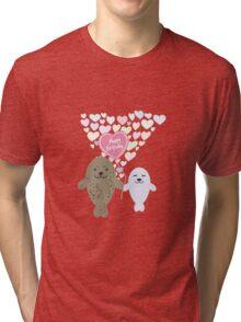 Happy Birthday Seals Tri-blend T-Shirt