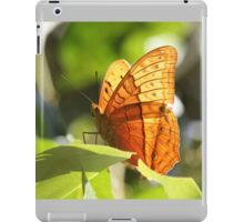 Orange Butterfly iPad Case/Skin