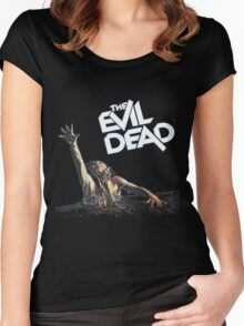 The Evil Dead Women's Fitted Scoop T-Shirt