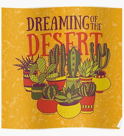 Dreaming of the desert Poster