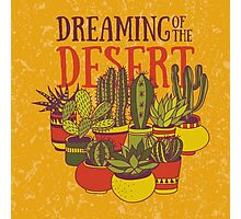 Dreaming of the desert Photographic Print