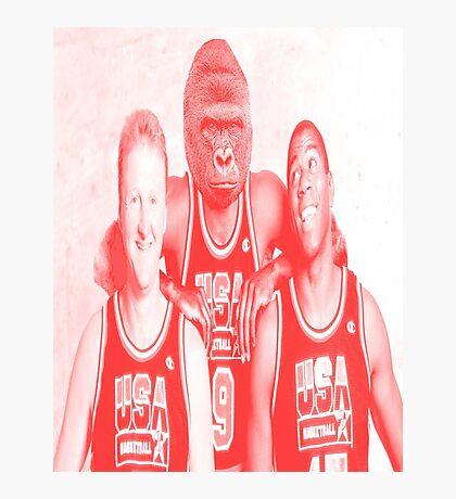 harambe dream team red Photographic Print