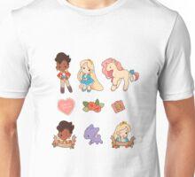 Princess Princess Stickers Unisex T-Shirt
