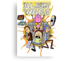 Alien Wars II Canvas Print