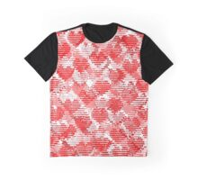 Lovely Red Graphic T-Shirt