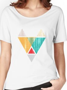 Abstract fox head Women's Relaxed Fit T-Shirt