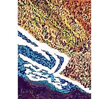 Coastline from the Air Photographic Print