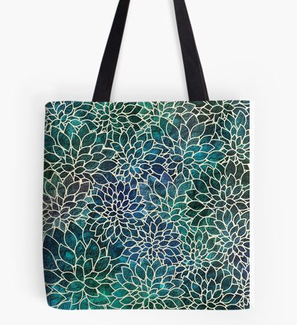 Floral Abstract #4 Tote Bag