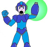 Mega Man Power Up! by FlyingDreamer