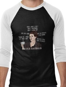 KAREN WALKER WILL & GRACE QUOTES Men's Baseball ¾ T-Shirt