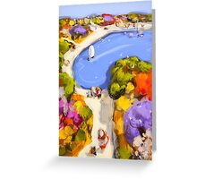 Sailing by Greeting Card