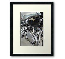 Motorbike, Vincent Framed Print