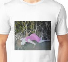Woman in mangrove swamp Unisex T-Shirt